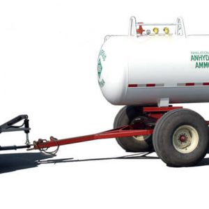 Anhydrous Tank with Logos - Clevis Style Steves Hitch Skidsteer
