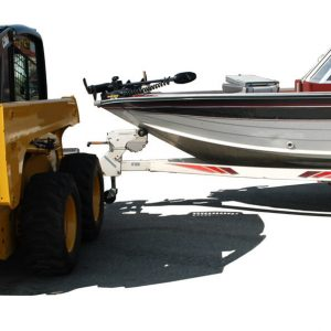 Boat Angle Back - Coupler Style Steves Hitch Skidsteer