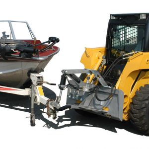 Boat Angle - Coupler Style Steves Hitch Skidsteer