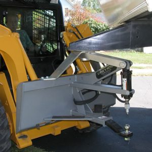 Fifth Wheel Style Steves Hitch Skidsteer - 3