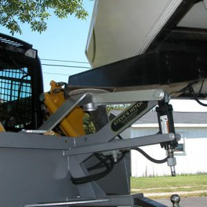 Fifth Wheel Style Steves Hitch Skidsteer - 4
