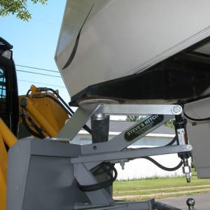 Fifth Wheel Style Steves Hitch Skidsteer - 5