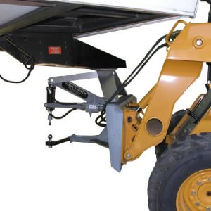 Fifth Wheel Style Steves Hitch Skidsteer - 7